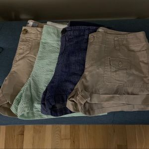 Shorts Bundle Chino Searsucker Linen Khaki